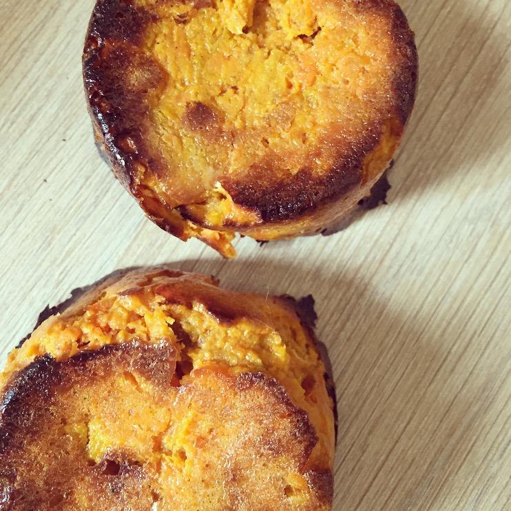gateaux carotte patate douce