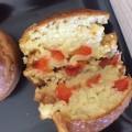 Muffins fraises poivrons
