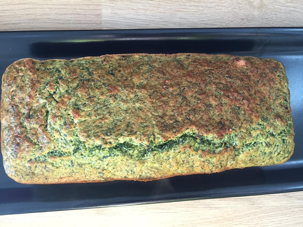 Cake Sale A La Farine De Quinoa