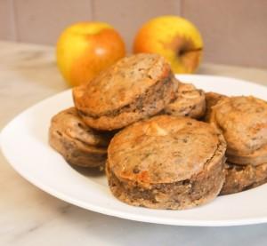 muffins vegan pomme