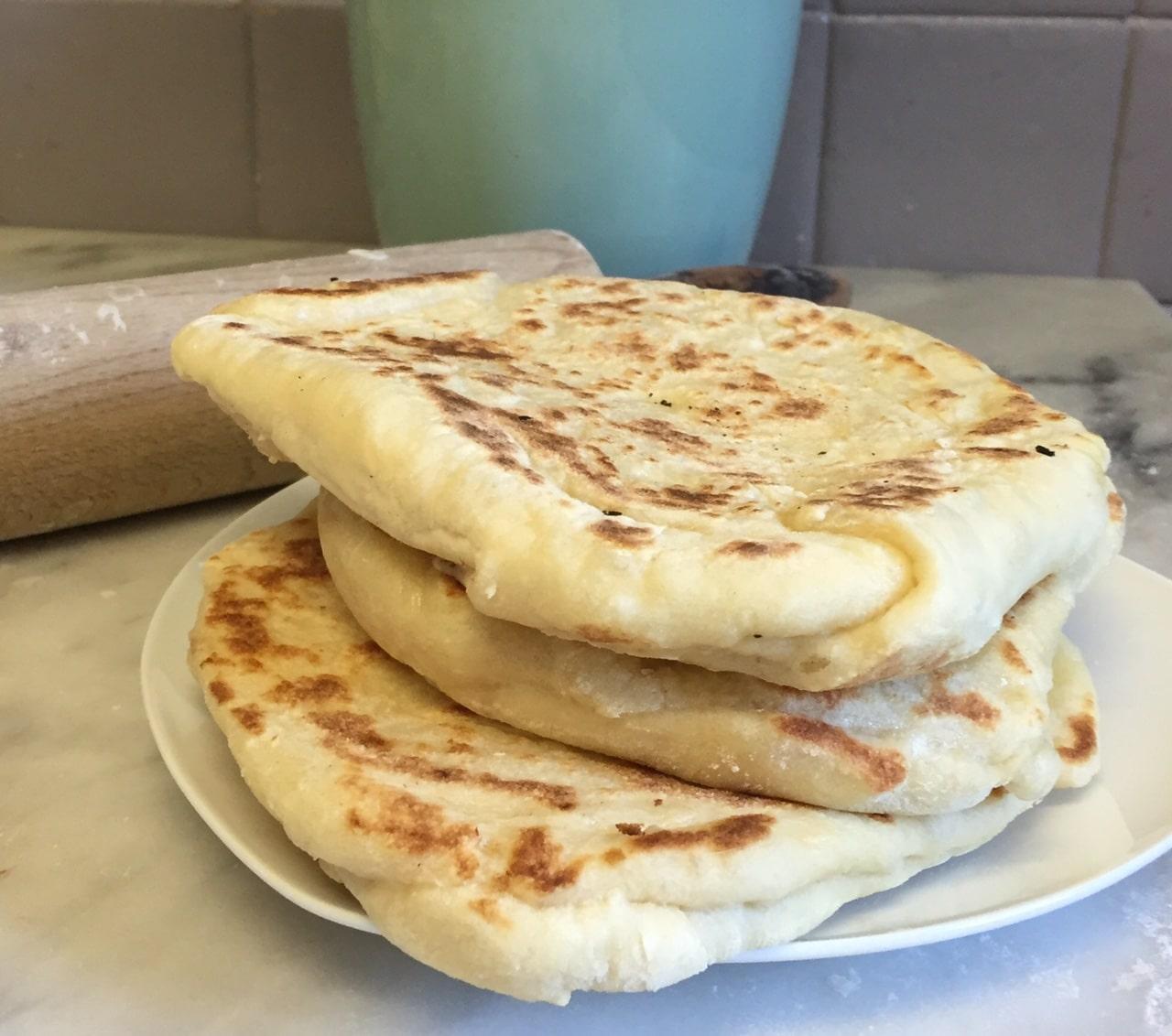 Yoghurt Naan Bread Recipe