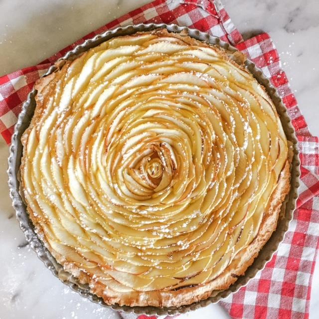 Tarte aux pommes et la cannelle comment j 39 ai chang de vie - Dessin de tarte aux pommes ...