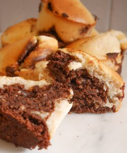 muffins marbrés vegan