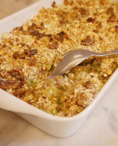 crumble salé sans gluten