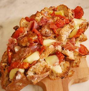 pain garni sans gluten