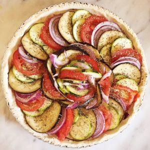 tartes aux légumes