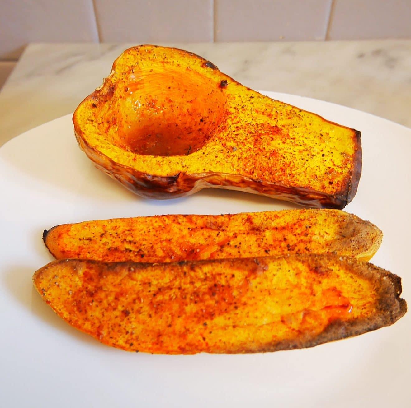 Courge butternut au four comment j 39 ai chang de vie - Comment cuisiner une courge butternut ...