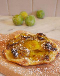 tartes aux prunes sans gluten