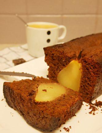 cake-vegan-chocolat-poire