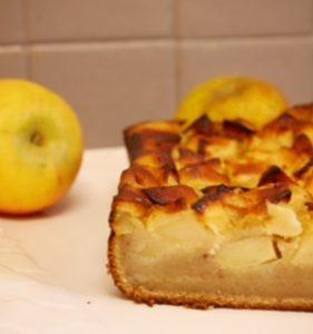 Cake pommes chataignes