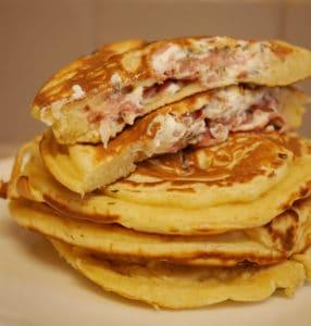 pancakes salés