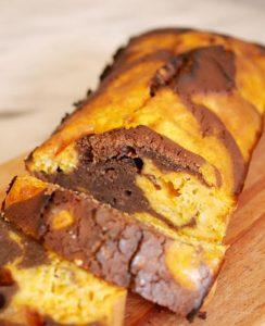Gâteau potimarron et chocolat