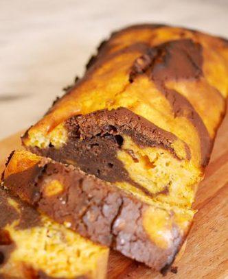 gâteau chocolat potimarron