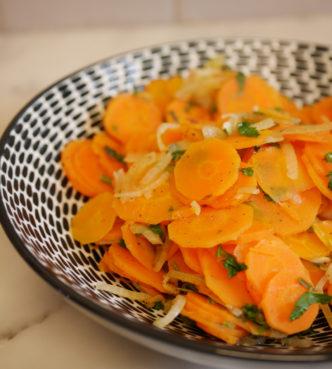 carottes persillées