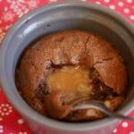 Coulant chocolat caramel