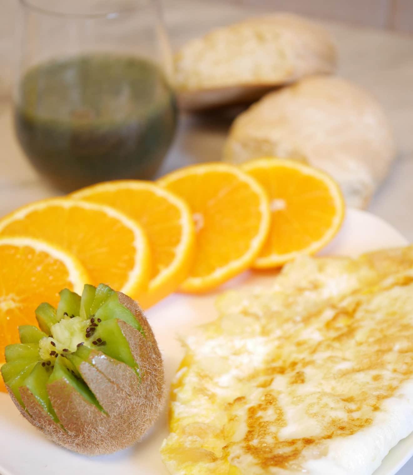 omelette sucrée