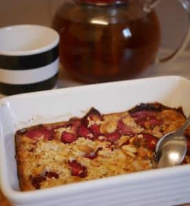 porridge au four
