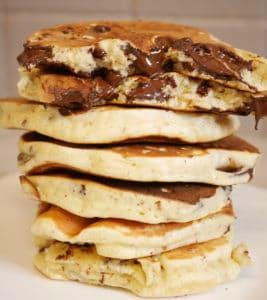 pancakes pépites chocolat