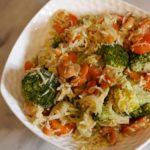 riz sauté brocolis cajoux