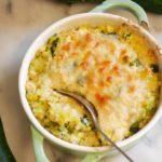 gratin courgettes quinoa