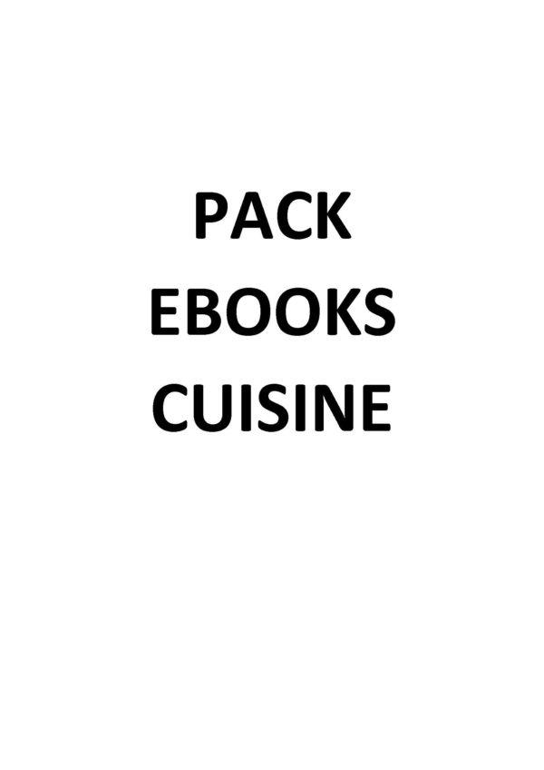 PACK EBOOKS CUISINE
