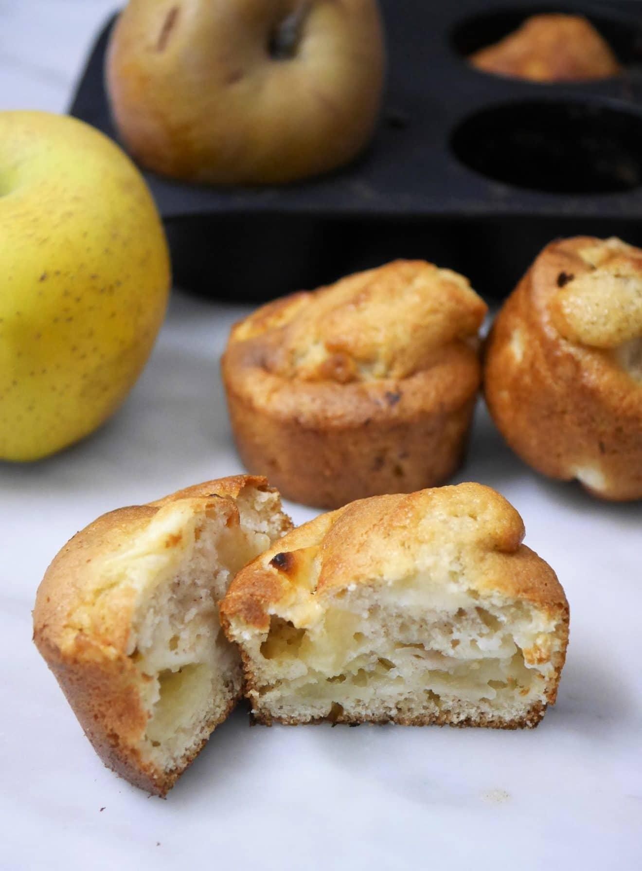 muffins aux pommes sans gluten comment j 39 ai chang de vie. Black Bedroom Furniture Sets. Home Design Ideas