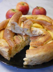 brioche pommes