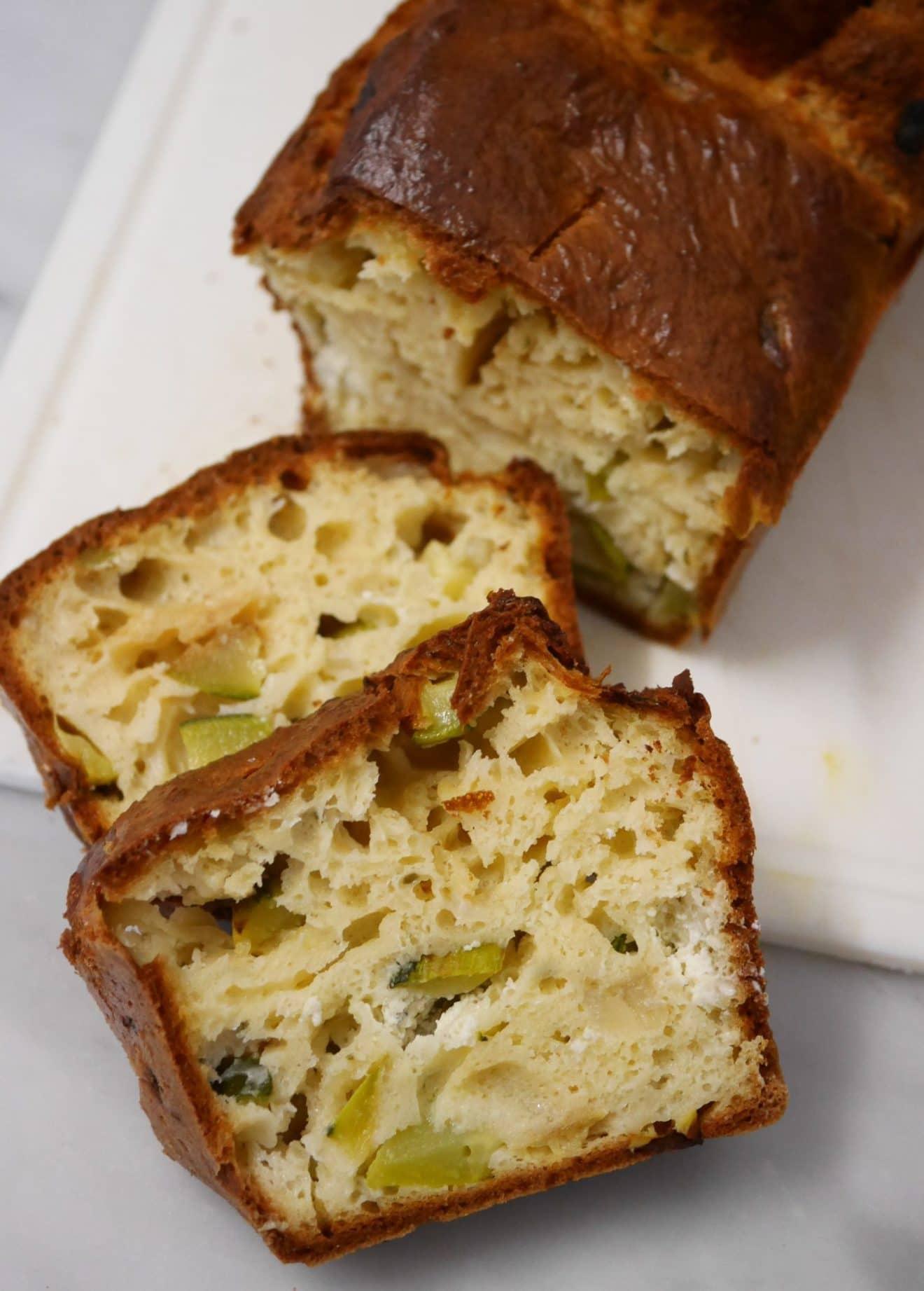 Cake Farine De Riz Courgette Vegan