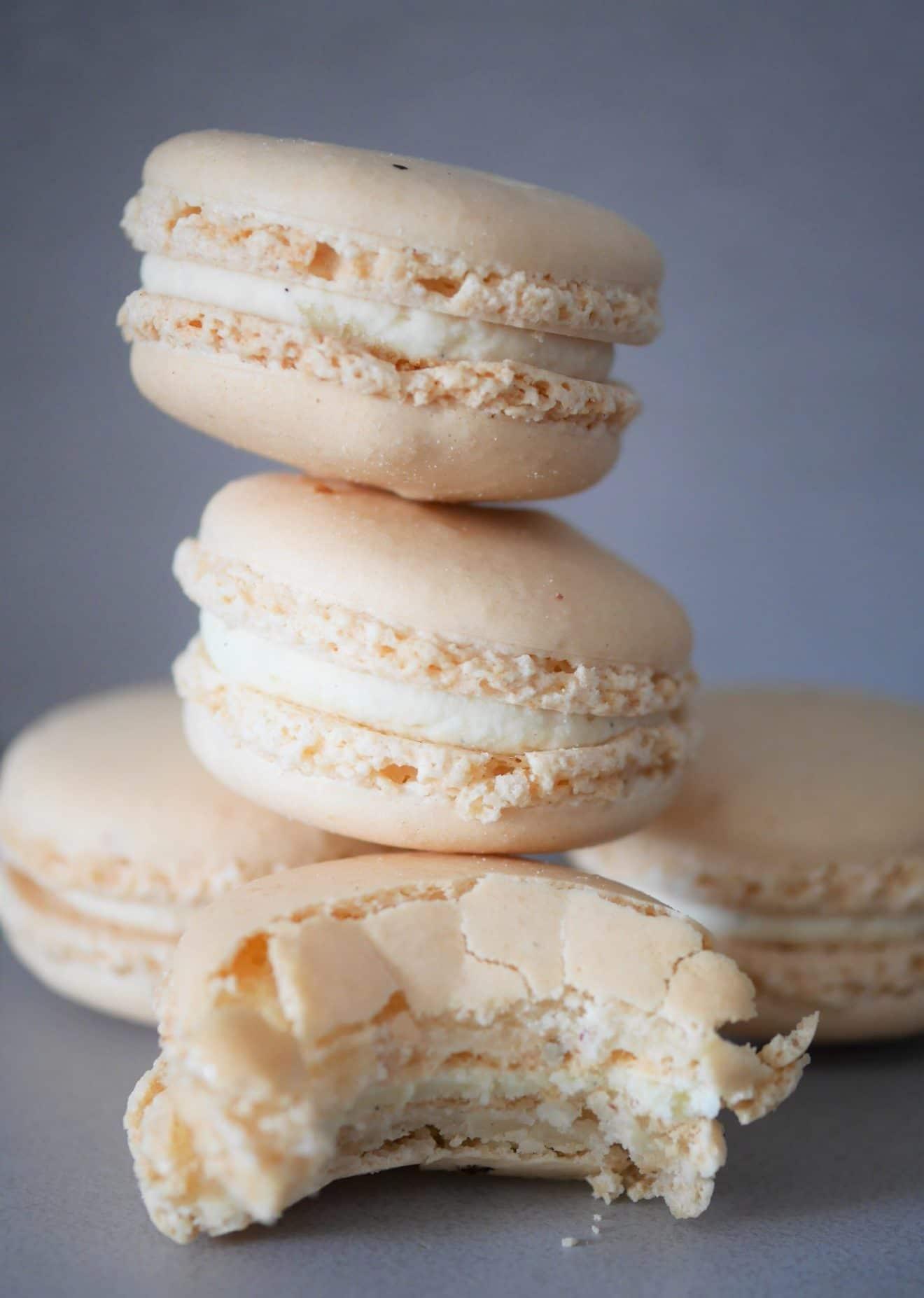 macarons vegan